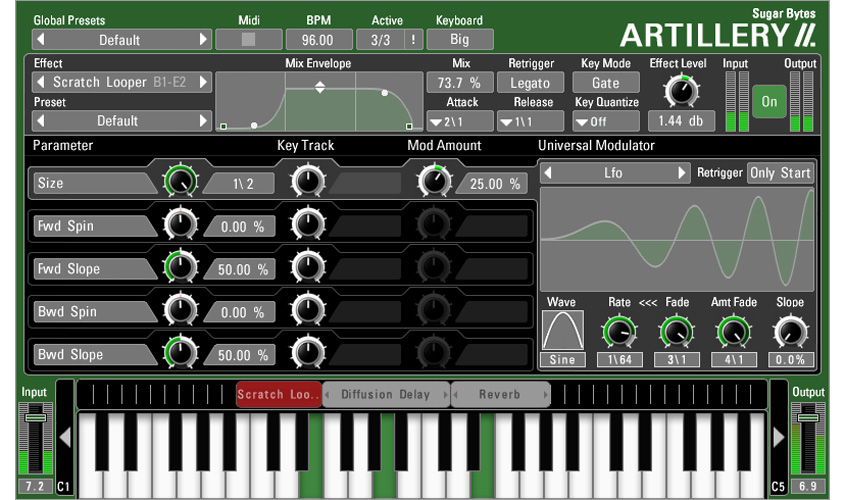 Artillery 2 | Effect Keyboard for Live Performance and Remixing