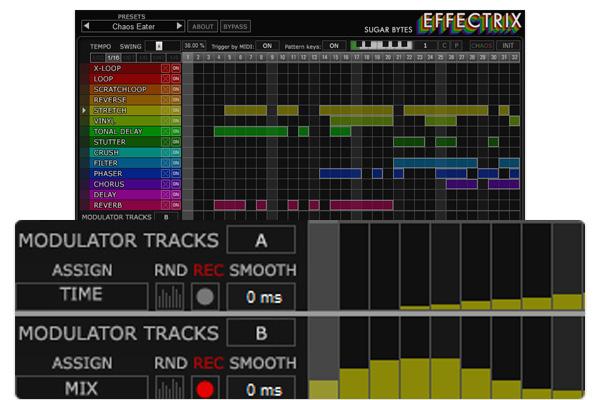 Effectrix screenshot