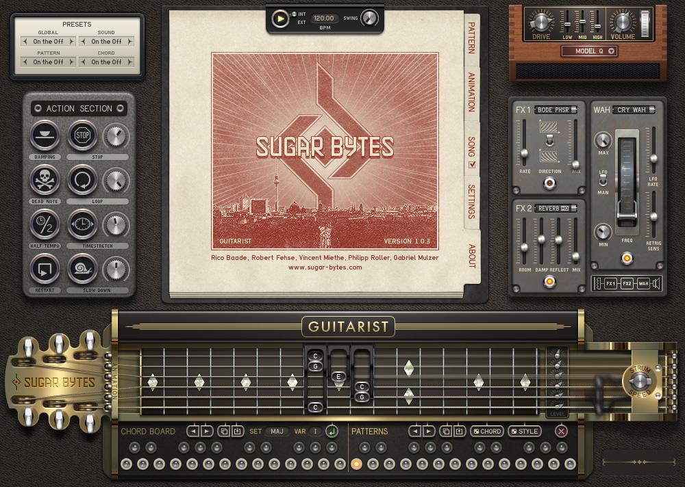 sugar bytes guitarist library