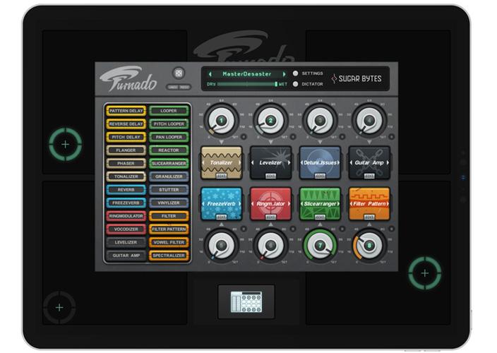 Turnado for iPad   Multi Effect for mobile musicians